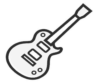 Guitar clip art pictures free clipart images