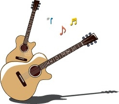 Guitar clipart free clipart images