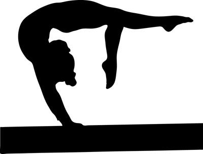 Gallery For u003e Gymnastics Clipart Images
