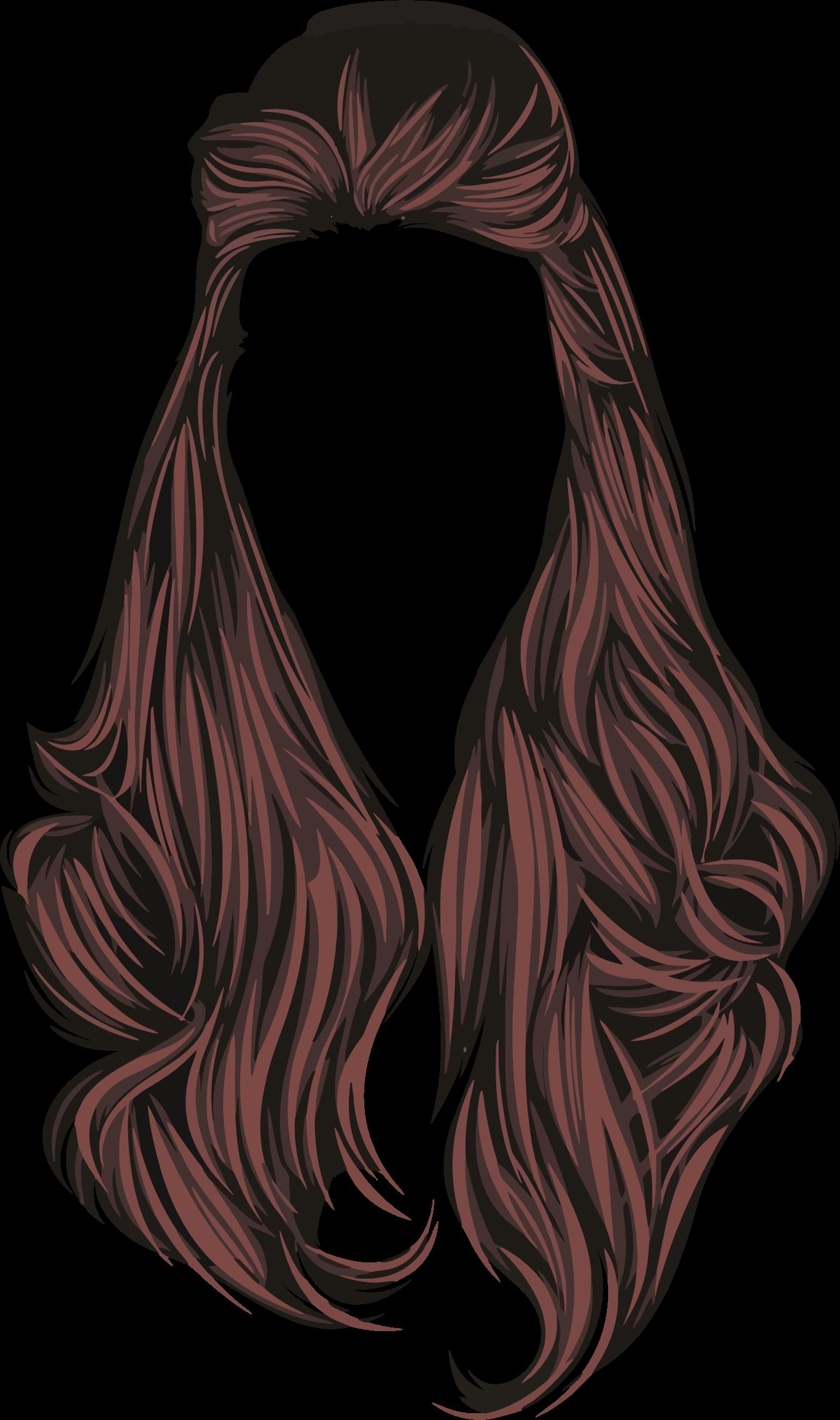 Hair clip art free clipart im