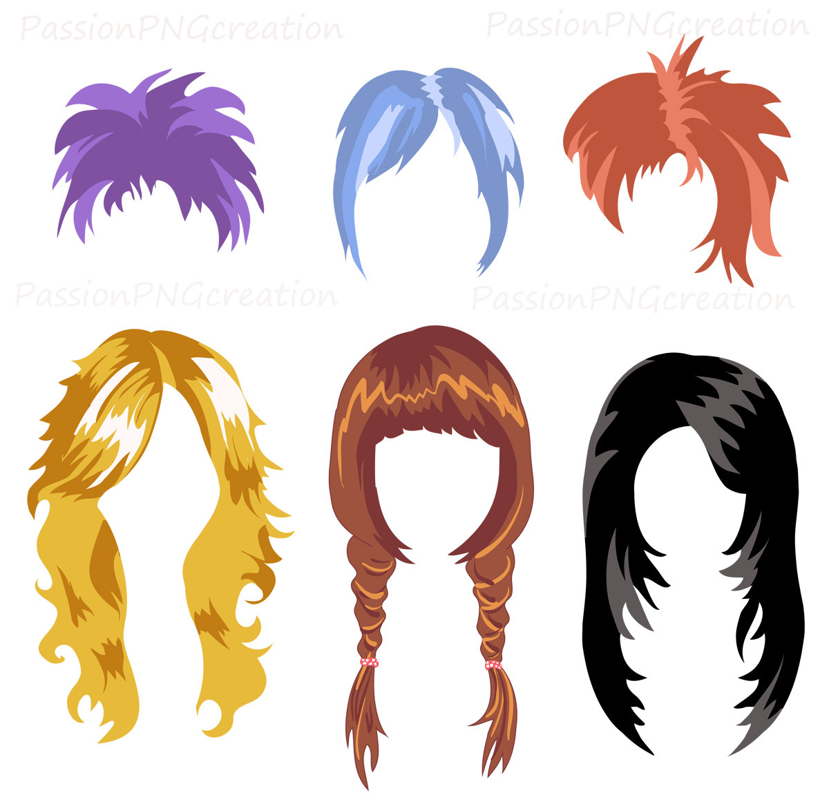 Hair clip art free clipart images