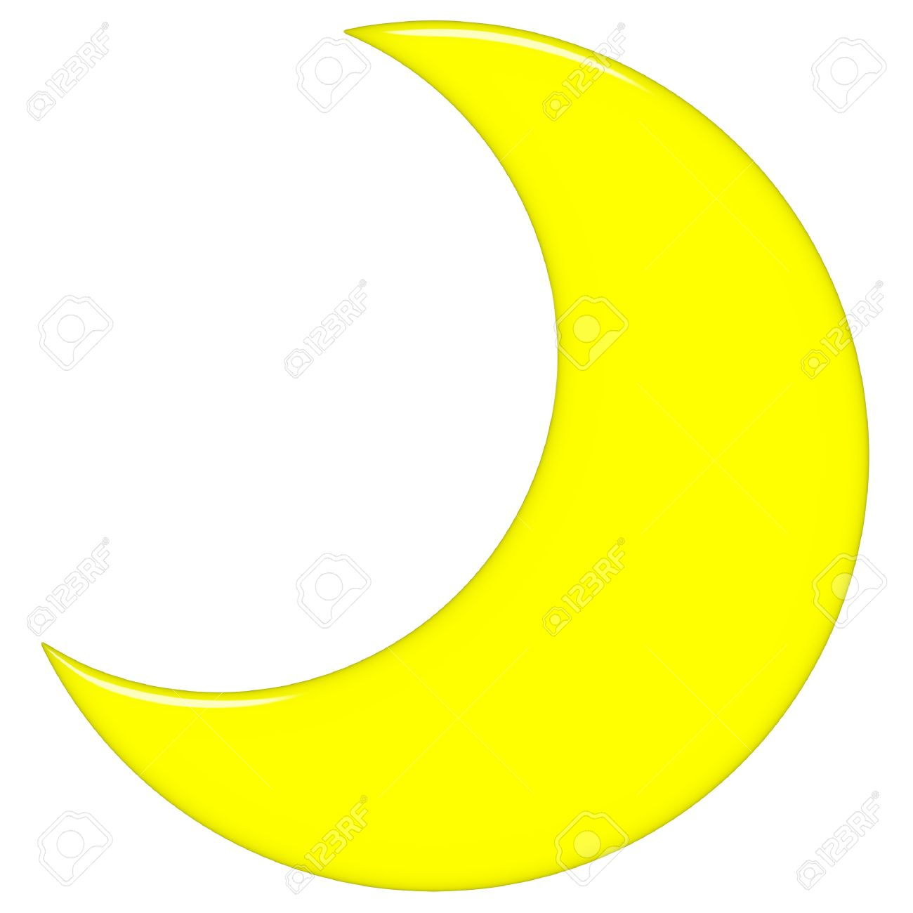 Half Moon Clipart