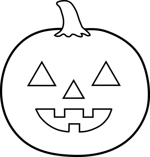 halloween clip art black and white