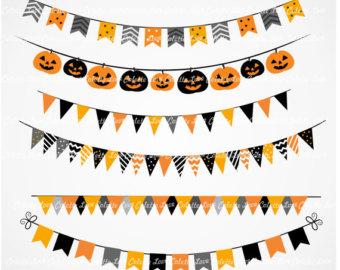 Halloween banner, Clip art and .