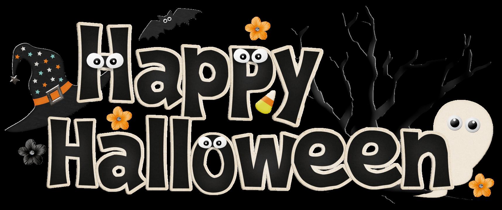 Halloween Banner Clip Art