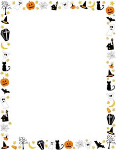 Halloween Border Featuring