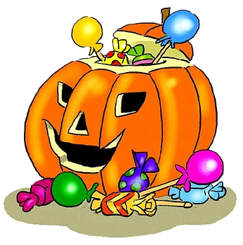 Halloween candy clipart 3