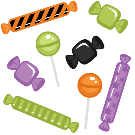 Halloween candy clipart 5