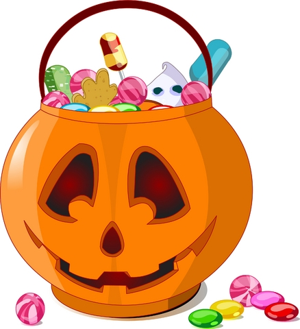 Halloween candy clipart 6