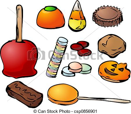 Halloween Candy Stock Illustration
