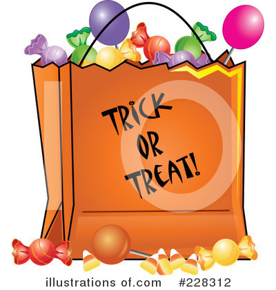 Royalty-Free (RF) Halloween Candy Clipart Illustration by Pams Clipart -  Stock Sample