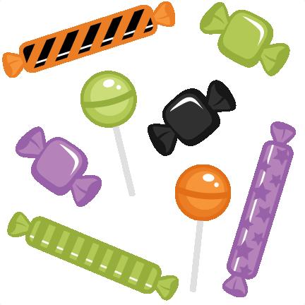 Halloween Candy Set Svg Cutti - Halloween Candy Clip Art