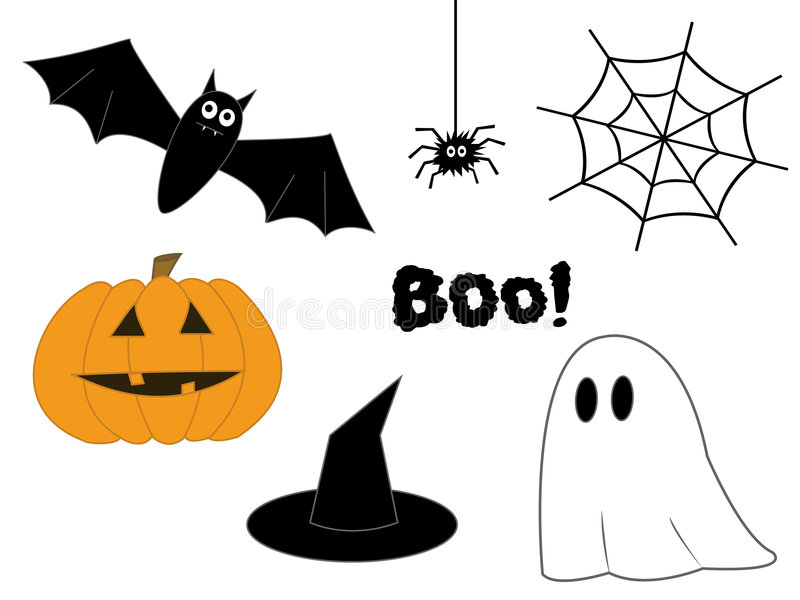 Download Halloween clipart. stock vector. Illustration of decoration -  3233745