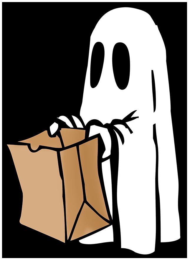 Funny Happy Halloween Clipart #1