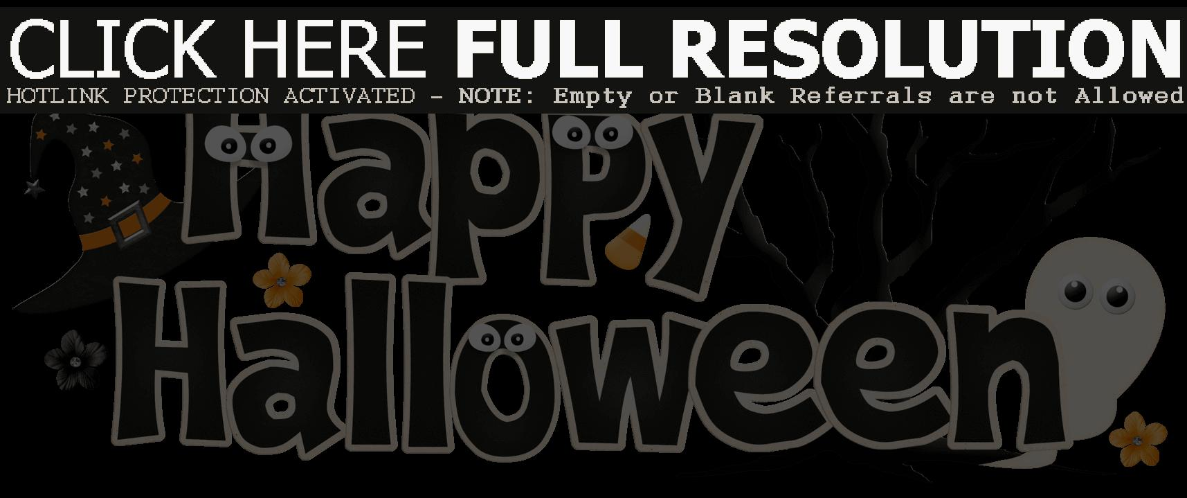 Halloween Clipart Transparent