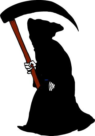Halloween Grim Reaper Clipart Jpg