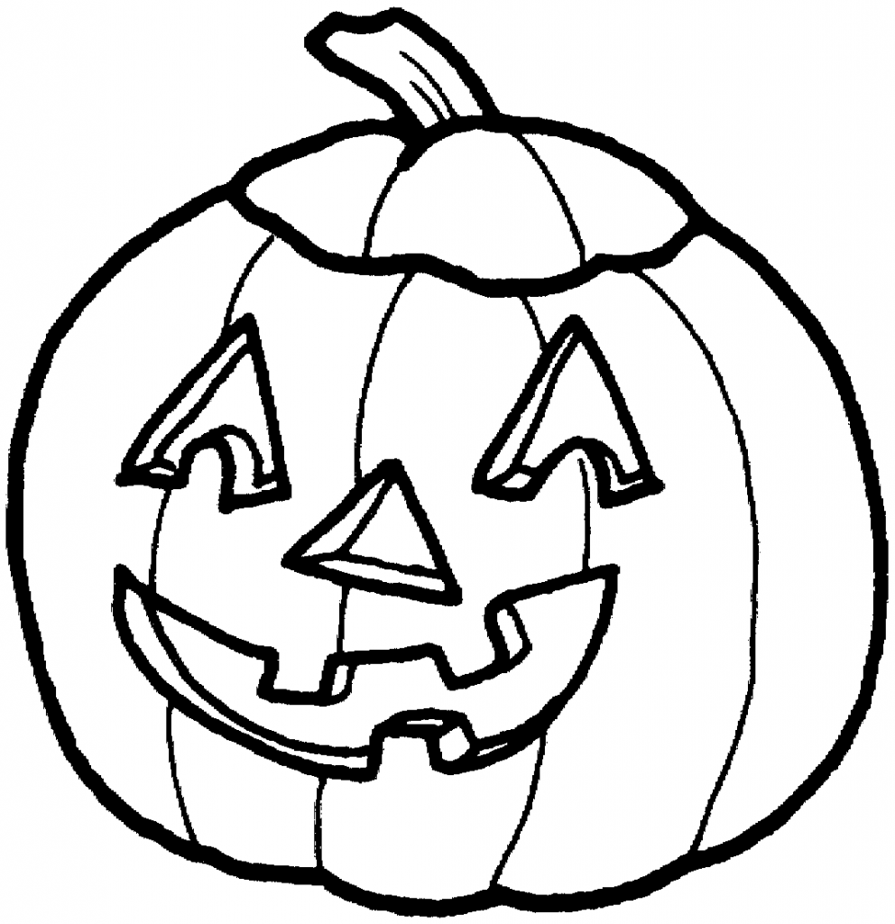 Halloween Pumpkin Clipart Black And White Hvgj