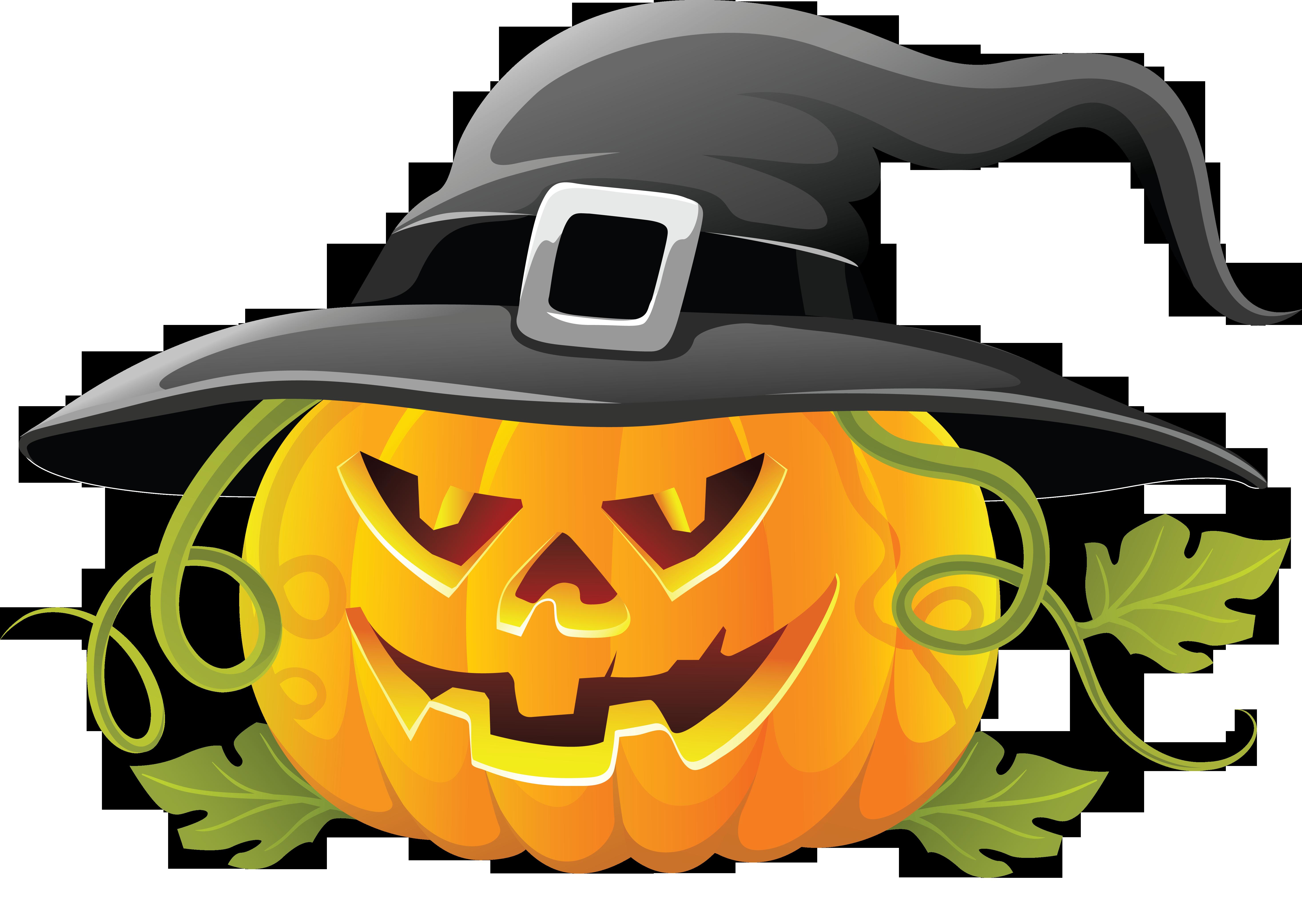 Halloween Pumpkin Clipart .