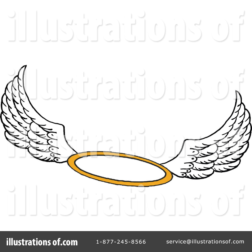 Royalty-Free (RF) Halo Clipart Illustration #1109296 by LaffToon