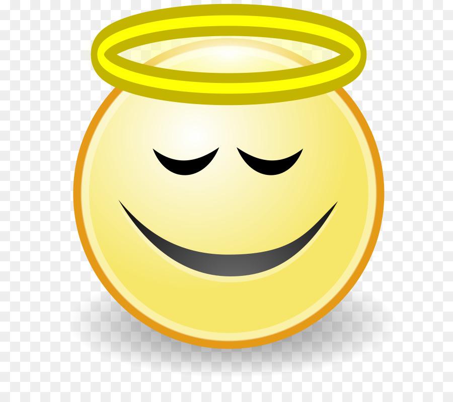 Smiley Emoticon Angel Face Clip art - Angel Halo Clipart