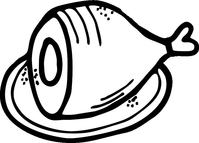 Ham Clip Art - PNG Image #183 - Ham Clipart