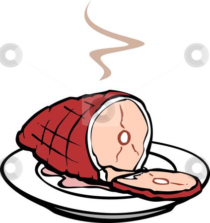 Ham Dinner Free Clipart #1 - Ham Clipart