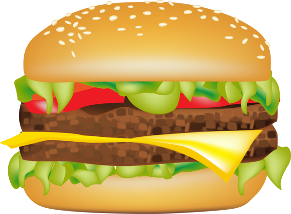 Hamburger burger and sandwich clipart burger sandwich food clip art photo