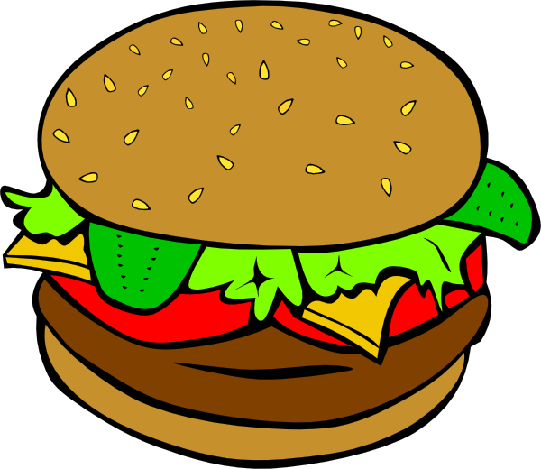 hamburger clipart - Hamburger Clipart