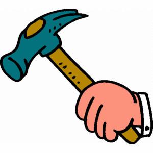 hammer clipart 4
