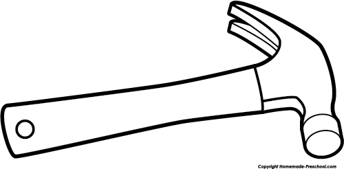 Hammer clipart image