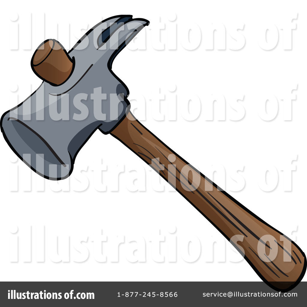 Royalty-Free (RF) Hammer Clipart Illustration #1115847 by Graphics RF