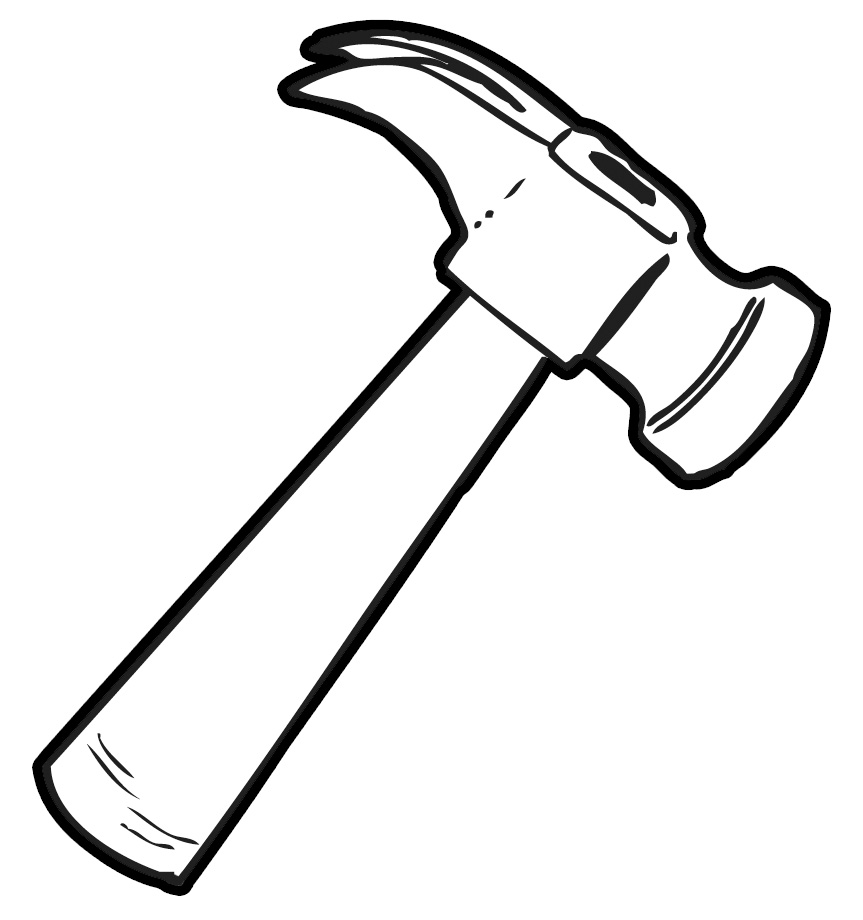 Hammer cliparts image