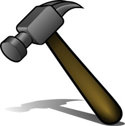 Hammer Saw Clipart Clipart Etc Tools Hammer