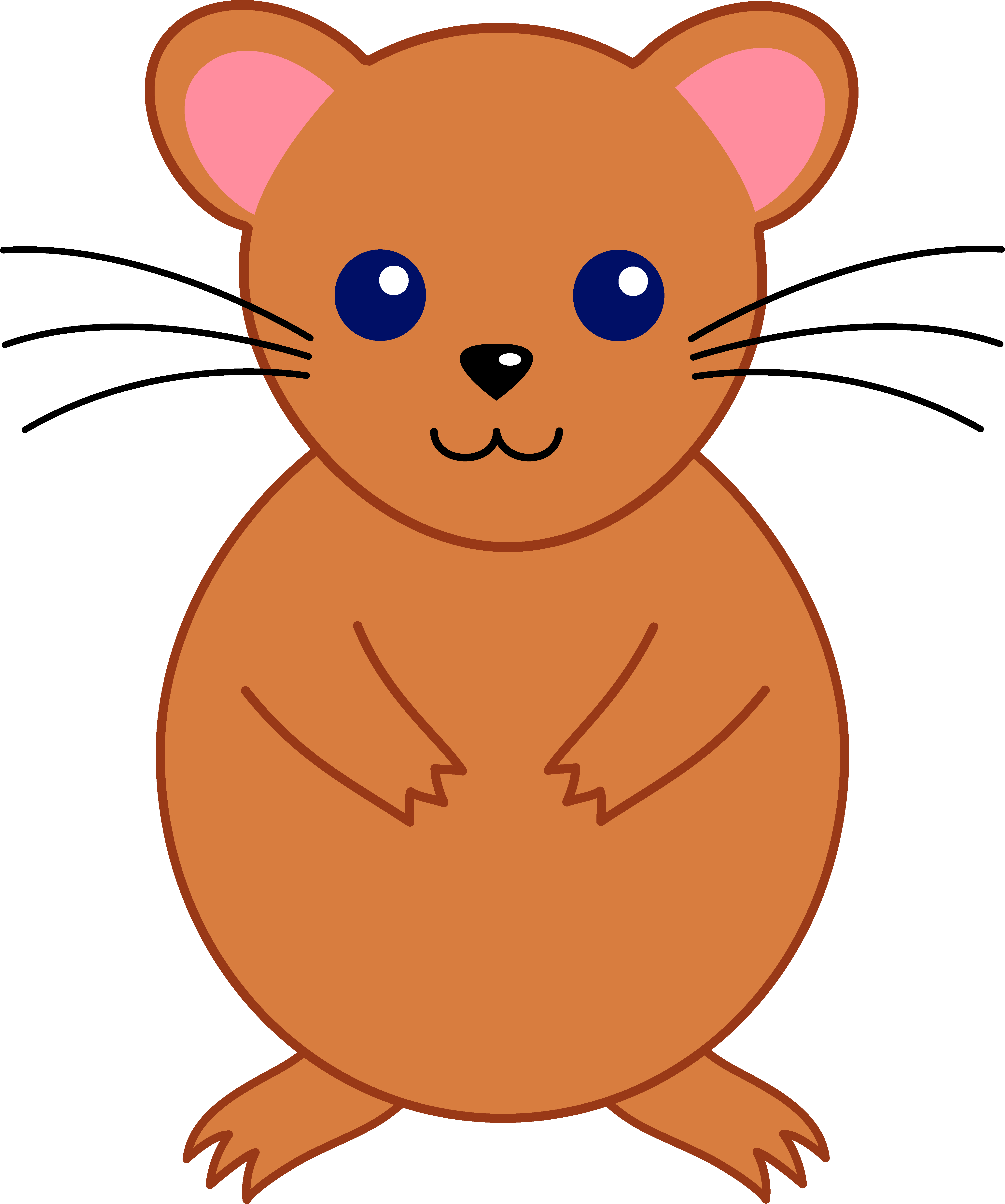 Hamster cliparts