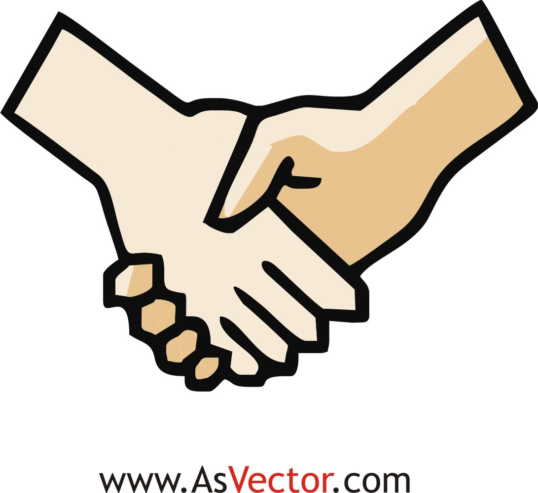 Hand Shaking Clipart | Free .