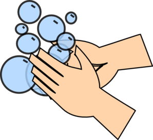 Hand Washing Clip Art at Clker clipartall.com - vector clip art online .
