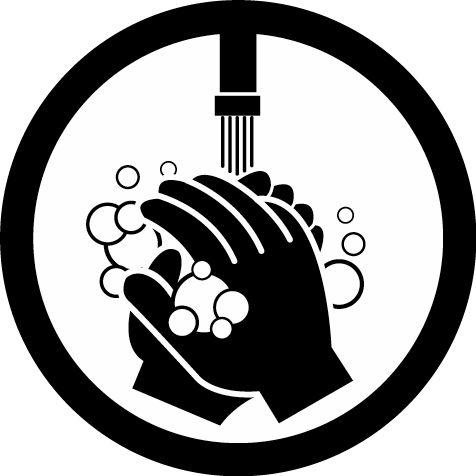Hand Washing Sign Clip Art | hand wash sign - free hand