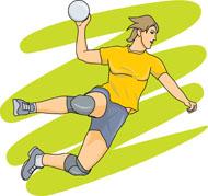 Handball Size: 73 Kb