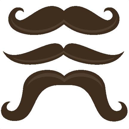 Handlebar Mustache Clip Art Clipart Best