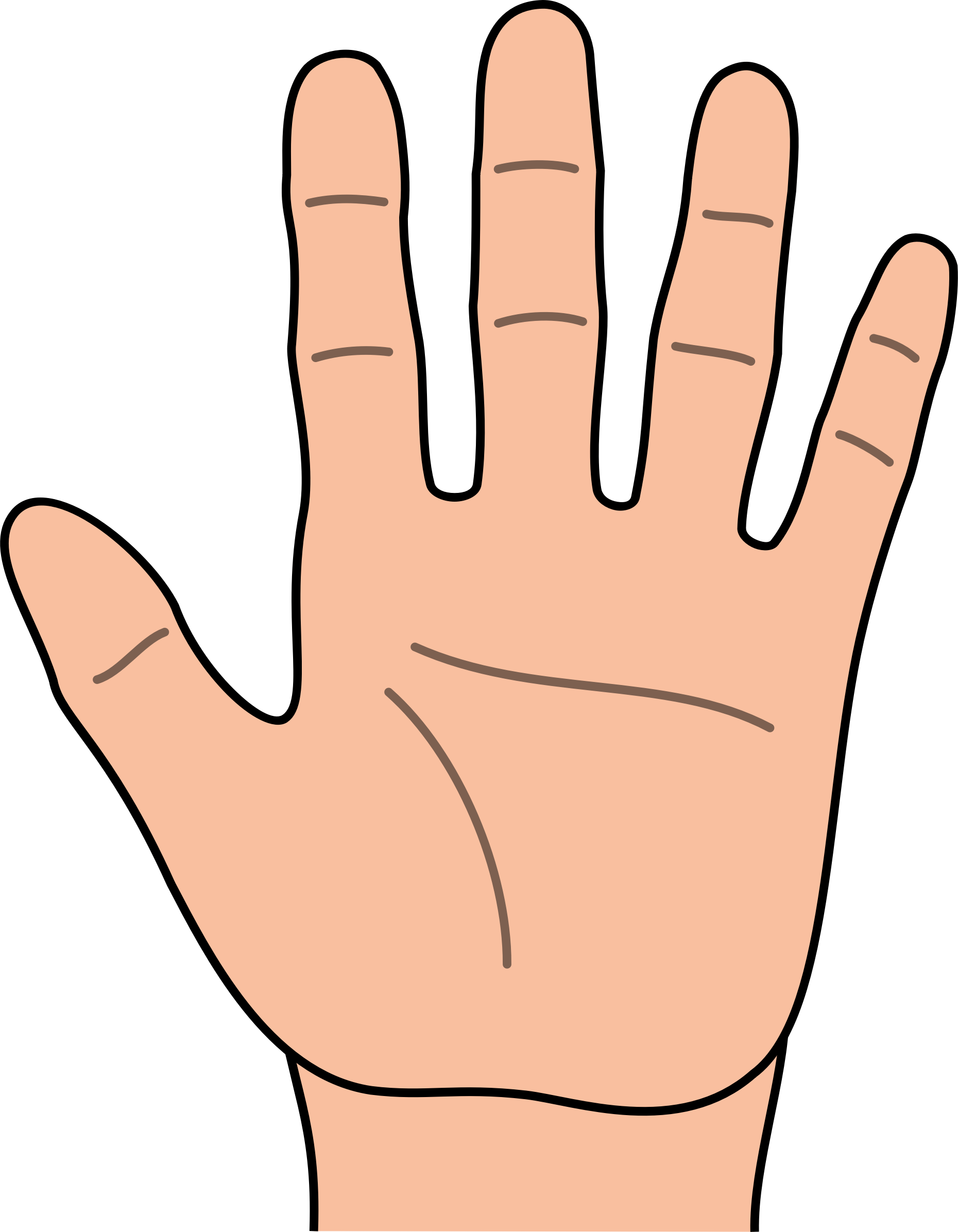 Hands hand clip art free clipart images