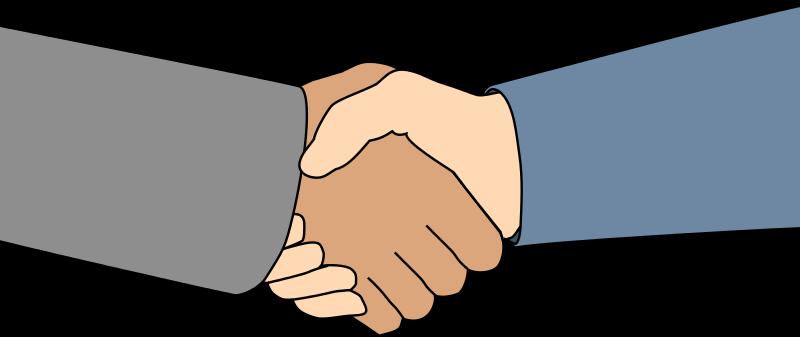 Handshake shaking hands hand shake clip art clipart image image 3