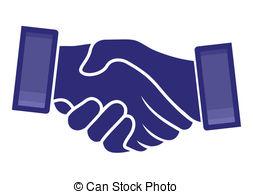 handshake - vector Clip Artby violetas12/1,387; handshake
