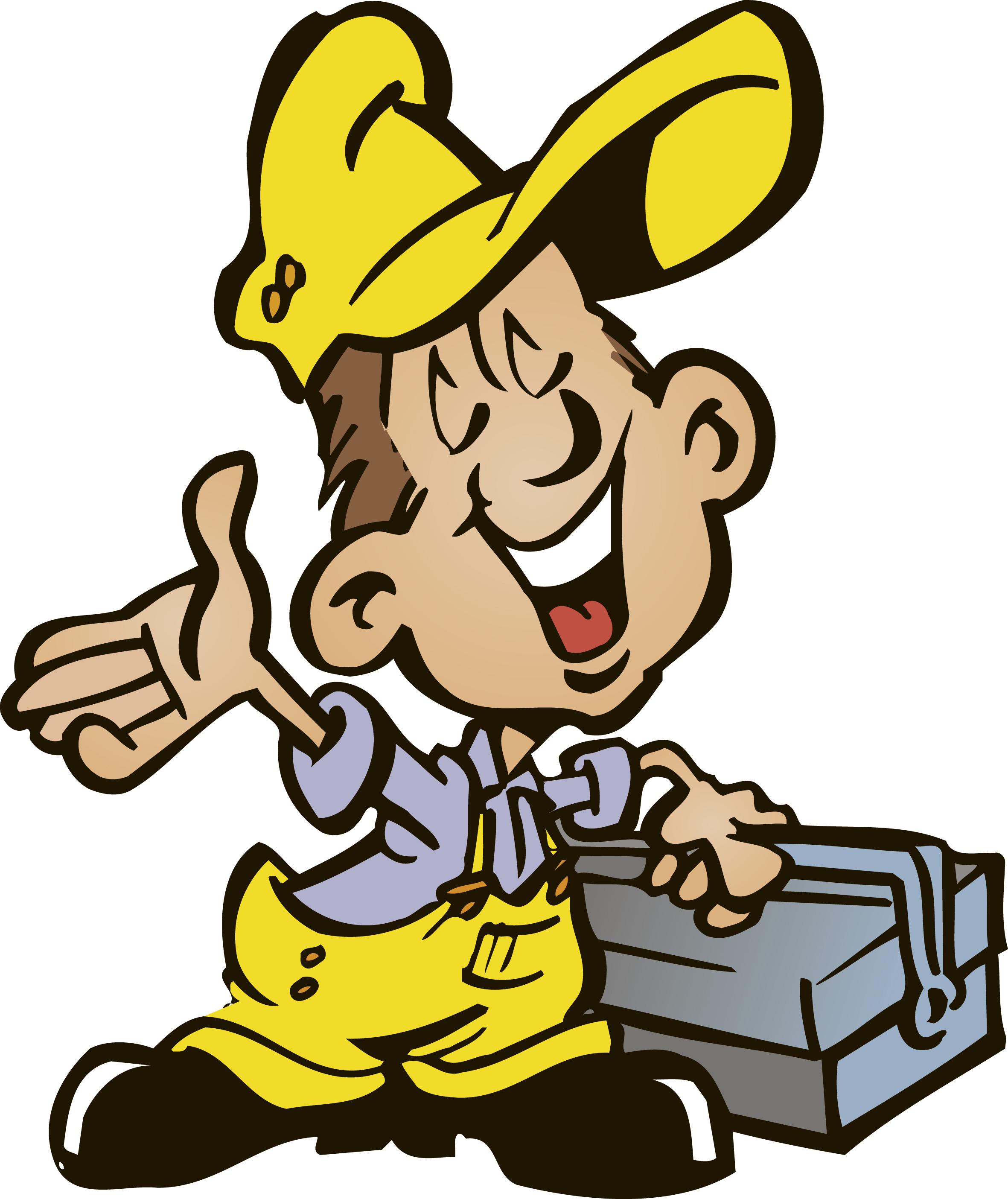 ... handyman clipart ...