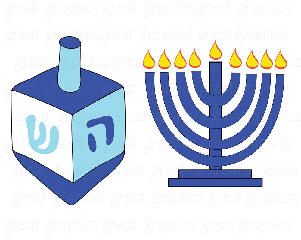 Hanukkah clipart