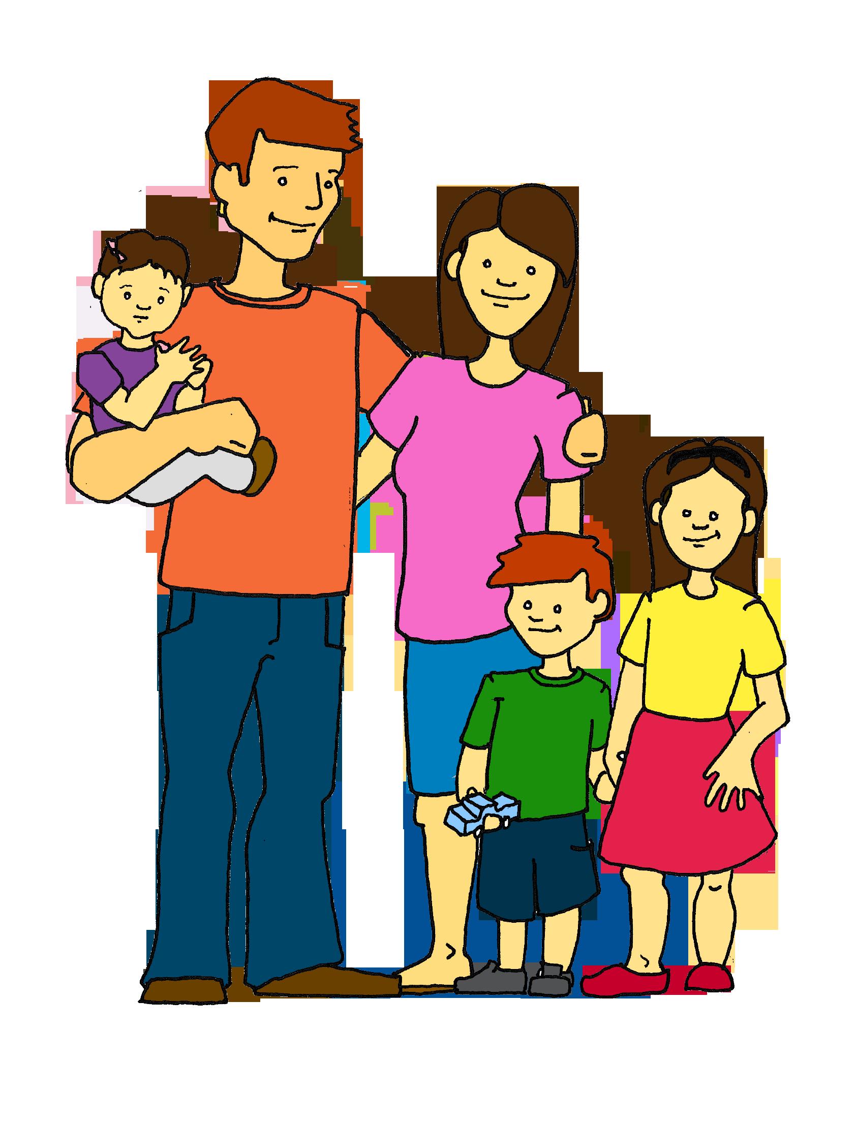 happy family clip art