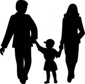 happy family clipart
