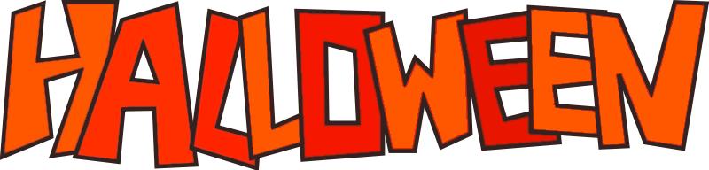 happy halloween banner clip art