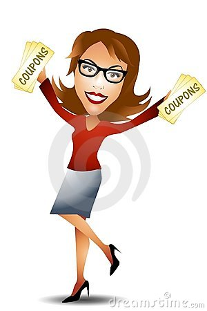 happy lady clipart