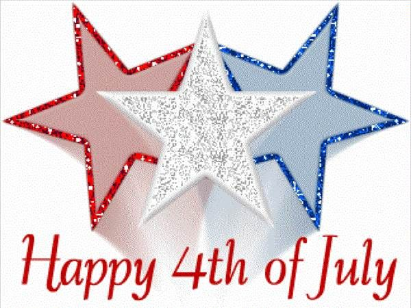Happy 4th of July Clipart Crafts Cards Icon Images Pictures