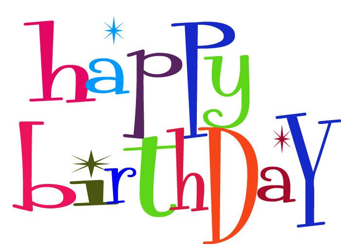 Happy Birthday Clip Art - Happy Birthday Clip Art